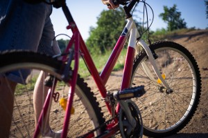 自転車パンク
