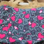 麻ひもで編んだトートバッグに簡単に内布を付ける方法ってある?