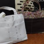 カーテンを再利用して便利なバッグインバッグを簡単に作る方法