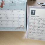 卓上カレンダー2018を無料のテンプレートで簡単に作る方法